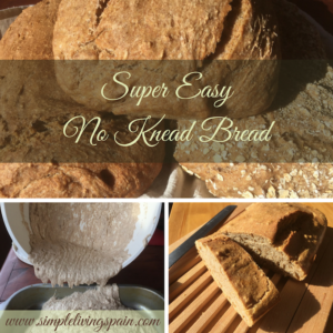 Super Easy Overnight Bread, No Kneading Required