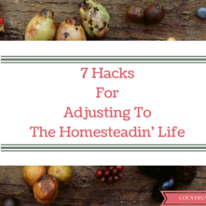 7 Hacks For Homesteadin' Mamas'