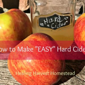"Make Your Own ""Easy"" Hard Cider"