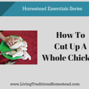 How to Cut Up a Whole Chicken