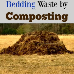 Managing Winter Bedding Waste By Composting