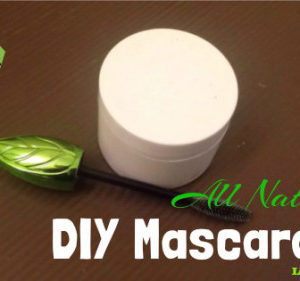 DIY All Natural 5-Ingredient Mascara