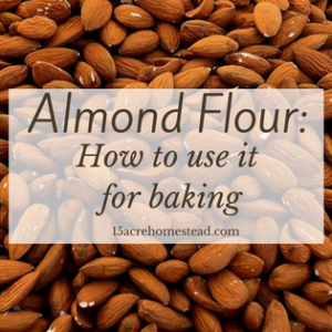How to use Almond Flour when Baking