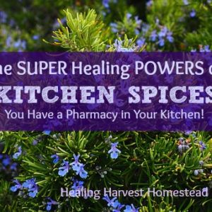 The SUPER Healing Powers of Kitchen Spices: You Have a Pharmacy in Your Kitchen!