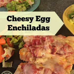 Cheesy Egg Enchiladas