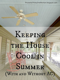 Keeping the House Cool in Summer (Without AC)