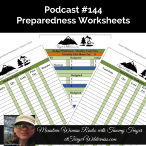 Podcast #144: Preparedness Worksheets