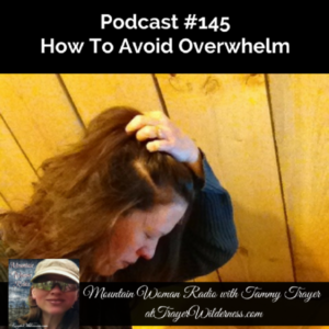Podcast #145: How To Avoid Overwhelm