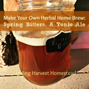 How to Make Herbal Beer: A Spring Bitters Tonic Ale