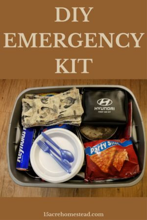 Diy Emergency Kit Homestead Bloggers Network