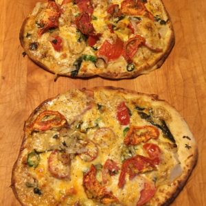 Margherita Pizza Recipe from the Garden