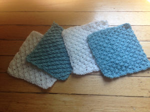 Handknit Wash Cloths Pattern