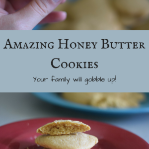 Honey Butter Cookies