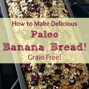 How To Make Paleo (Grain-Free) Banana Bread!