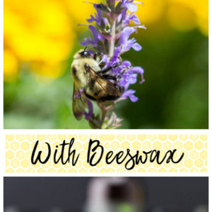 Make Pollinator Friendly Perfume With Beeswax