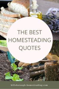 Ultimate Collection of Homesteading Quotes