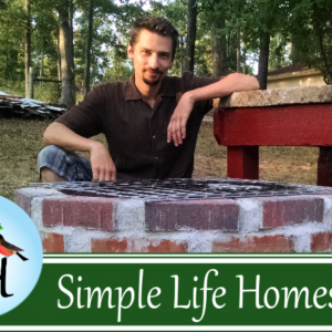Outdoor Kitchen Build #2:  Adding the Grill and Worktable (VIDEO)