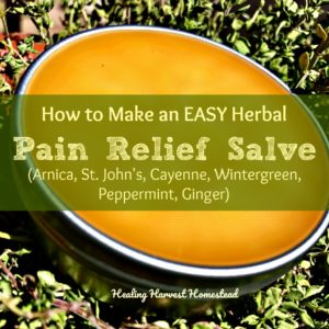 How to Make a Pain Relief Salve That Really Works!
