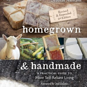 Homegrown and Handmade Book and $100 Giveaway #Homegrown