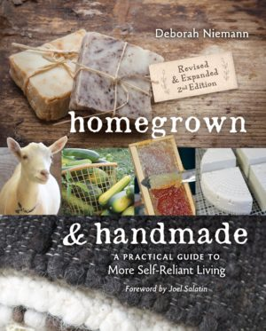 Homegrown and Handmade Book Review and Giveaway Prize Package