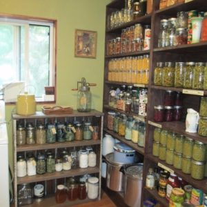 The New Pantry Shelves