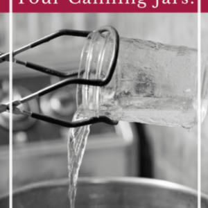 Should You Sterilize Your Canning Jars?