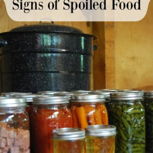 Home Canning – Signs Of Spoiled Food