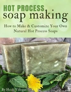 The Secret to Making and Customizing Your Own Hot Process Soaps!
