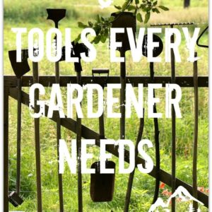5 Tools Every Gardener Needs and You Do Too