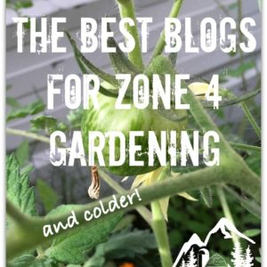 Best Blogs for Zone 4 Gardening and Colder!