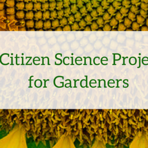 5 Citizen Science for Gardeners
