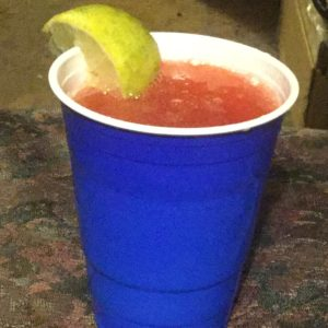 Homemade  Cherry Limeade