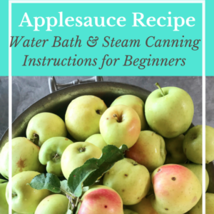 Applesauce Canning Recipe