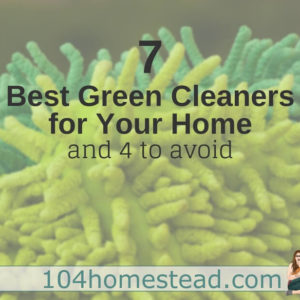 7 Best Green Cleaners for Your Home