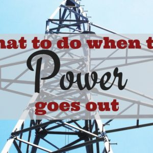 Dealing With Power Outages