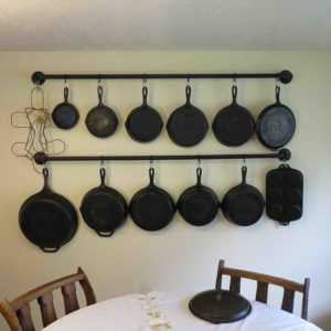 Cast Iron Collection Tour & DIY Wall Rack