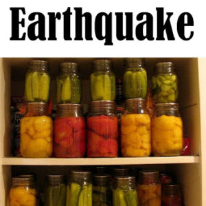 Protecting Canning Jars in an Earthquake