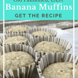 Best Old Fashioned Banana Muffins Recipe