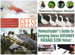 HBN Geese Keeping Prize Package Giveaway