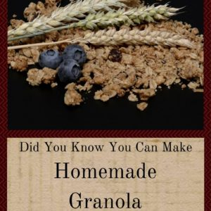 Did You Know You Can Make Homemade Granola In The Crockpot!
