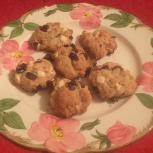 White Chip & Cranberry Cookies