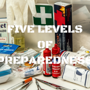 5 Levels of Preparedness