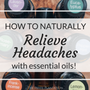 Naturally Relieve a Headache!