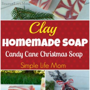 Candy Cane Clay Soap Recipe