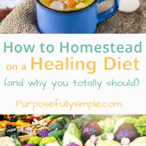 How to Homestead on a Healing Diet (and why you totally should)