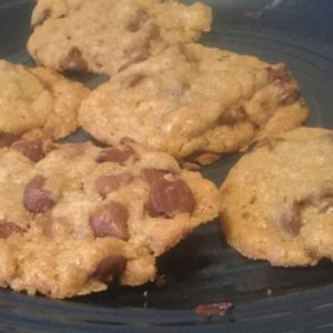 Flat & Chewy Chocolate Chip Cookie Recipe