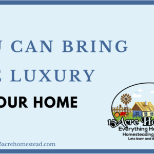 You Can Bring Luxury To Your Home