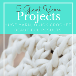 5 Giant Yarn Projects