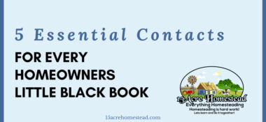 Essential Contacts For Every Homeowner's Little Black Book