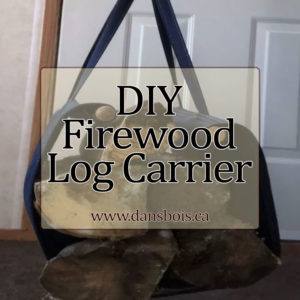 DIY Firewood Log Carrier